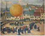 L. Payret-Dortail Le ballon oil on canvas.png
