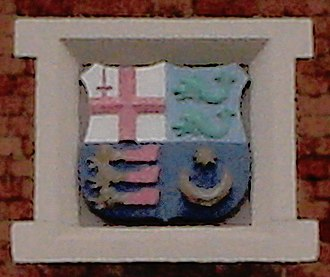 Gipsy Hill railway station - Image: LBSCR coat of arms