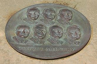 Mercury Seven - Plaque at Launch Complex 14
