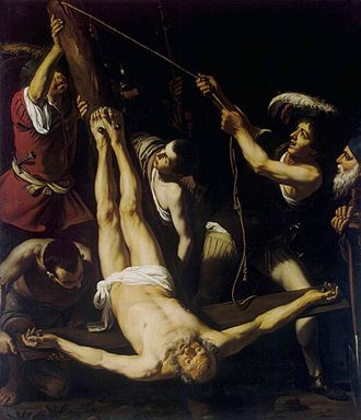 Leonello Spada - Image: L Spada Martirio de San Pedro Hermitage