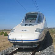 AVE Baureihe 102 von Talgo.