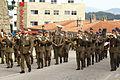 La Banda de Guerra de la BRILAT desfilando (15446185741).jpg