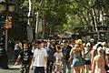 La Rambla tree-lined pedestrian street.jpg