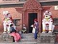 La maison de la Kumari (Katmandou) (8574765472).jpg