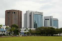 Labuan financial park located in Victoria.