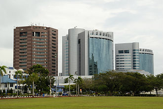 Labuan - Labuan financial park located in Victoria