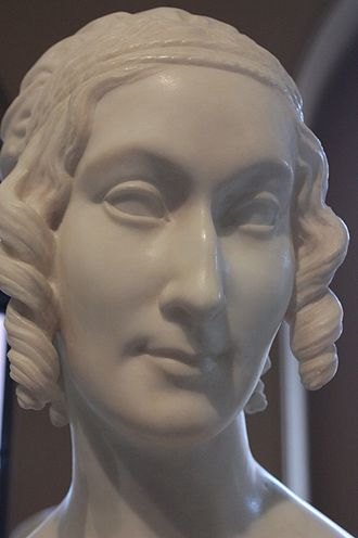Richard Cockle Lucas - Catherine, Lady Stepney, by Richard Cockle Lucas, Victoria and Albert Museum