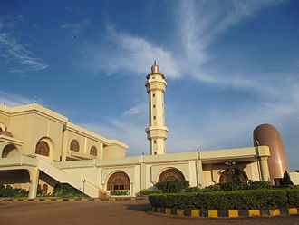 Kampala - Gaddafi National Mosque.