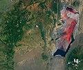 Lake Natron (Tanzania) – 2017-03-06 (very early in rainy season) – satellite image.jpg