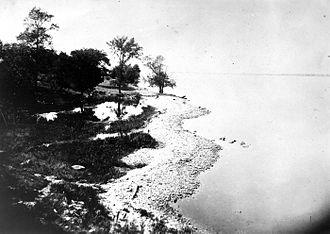 Beach ridge - Beach ridge, Lake Ontario, New York, 1895.