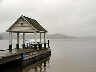 Lake of Bays (Muskoka lake) - Pier at Dwight Beach