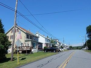 Delano Township, Schuylkill County, Pennsylvania - Lakeside Avenue in Delano.