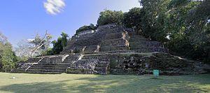 Lamanai - Temple of the jaguar, Lamanai
