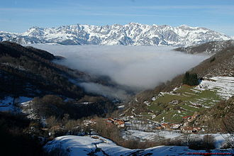 Geography of Spain - The Picos de Europa in Northern Spain