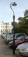 Lanterna kolono ĉe 23 Sussex Square, Kemp Town, Brajtono (IoE Code 481318).jpg