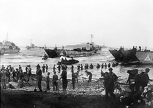 Landing beach on the opening day of the invasion of Sicily.jpg