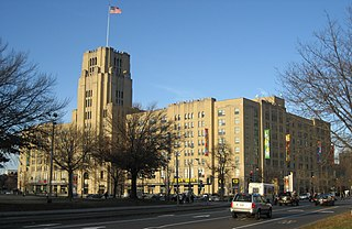 Landmark Center (Boston) former Sears Roebuck and Company warehouse and distribution center in Boston, Massachusetts, USA