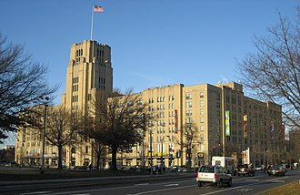Fenway–Kenmore - The Landmark Center was formerly a Sears mail order center and warehouse.