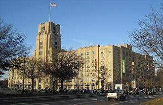 Landmark Center (Boston) - Image: Landmark Center Sears Bldg Boston