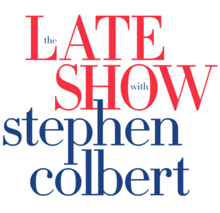 <i>The Late Show with Stephen Colbert</i> American late-night talk show