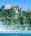 Laufen Castle in Switzerland, near the Rhine Falls.jpg