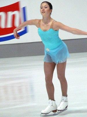 Laura Lepistö - Lepistö during her short program at the 2007 Nebelhorn Trophy.