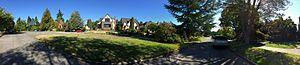 Laurelhurst, Seattle - Laurelhurst residential street, near Laurelhust Park