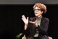 Laurie Frick onstage at Transylvania University January 2019.jpg