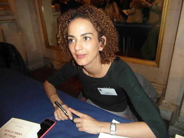 Leïla Slimani (21e Maghreb des Livres, Paris, 7 et 8 février 2015 - Photo de wikicommons - auteur: Indif