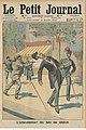 Le Petit Journal - 30 Mars 1913 - L'assassinat du roi de grèce.jpg