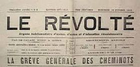 Image illustrative de l'article Le Révolté (journal)