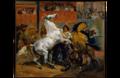 Le départ de la course des chevaux libres - Horace Vernet - 1820.png