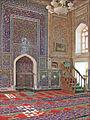 Le mihrab de la mosquée Baland (Boukhara, Ouzbékistan) (5719462603).jpg
