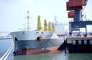 "Français : Le navire cargo iranien ""Iran ..."
