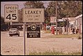 Leakey, a Small Town near Garner State Park, Derives Much of Its Income from Summer Tourists and Fall Deer Hunters, 07-1972 (3703571571).jpg