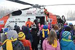 Learning to fly, Air Station Kodiak flight crew descends on Palmer, Alaska, school 150129-G-ZR723-001.jpg
