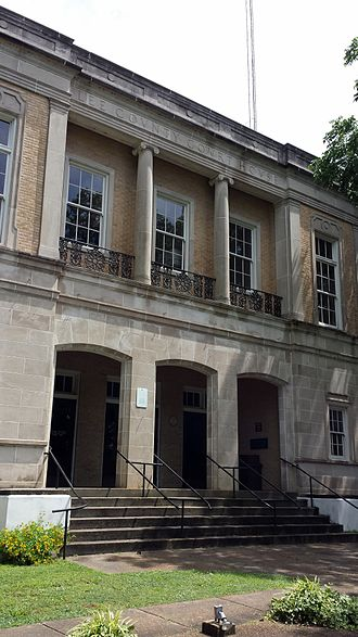 Lee County Courthouse (Arkansas) - Image: Lee County Courthouse 003