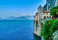 Leggiuno Monastero di Santa Caterina del Sasso Chiesa Esterno 5.jpg