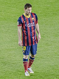 1aa12e6c2 Messi during a game against Almería in 2014