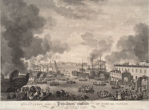 War of the First Coalition - The British evacuation of Toulon in December 1793