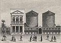 Les premières coupoles des panoramas à Paris sur le boulevard Montmartre, 1802.jpg