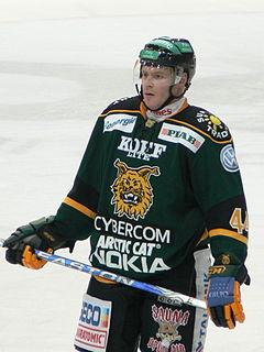 Junior Lessard Canadian ice hockey player