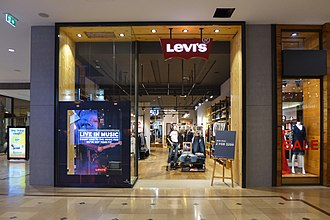 Levi Strauss & Co. - A Levi's store in Chadstone Shopping Centre, Melbourne, Australia