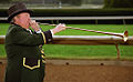 "Lexington Kentucky - Keeneland Race Track ""George ""Bucky"" Sallee - Bugler"" (2144470597) (2).jpg"