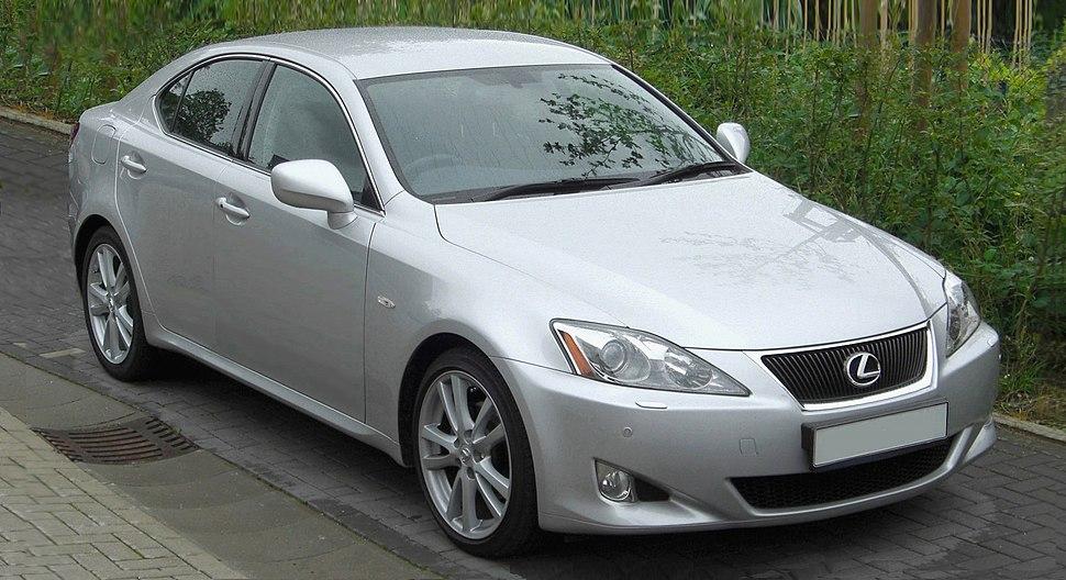 Lexus IS250 silver