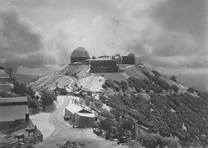 Lick Observatory - Lick Observatory in 1900