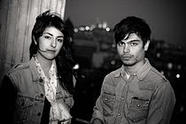 Lilly Wood & The Prick (Nili Hadida und Benjamin Cotto) in Paris.