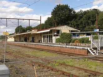 Lilydale railway station - Lilydale railway station platform in March 2015