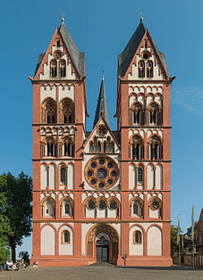 Limburg Cathedral, West facade 20140917 1