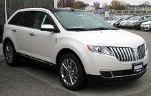 Lincoln MKX - Wikipedia, the free encyclopedia
